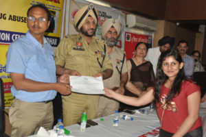 DISTRICTPOLICE AND CIVIL ADMINISTRATION ROPES IN REFORMED DRUG DEPENDENTS FOR CREATING AWARENESS AGAINST DRUGS IN DISTRICT
