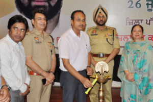 DISTRICT LEVEL FUNCTION ORGANIZED TO MARK INTERNATIONAL DAY AGAINST DRUG ABUSE