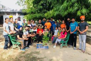 Water pots for bird installed and Saplings were distributed at PAU during the World Environment Day