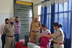 SSP MOTIVATES THE DRUGS AFFECTED PERSONS TO SHUN THE DRUGS