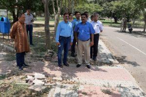 Prof Raj Kumar, Vice Chancellor, Panjab University, visits AcademicArea