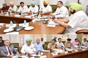 Punjab CM moots preventive detention of repeat drugs offenders, fast track courts for speedy trials
