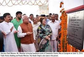 Boosting station in Sector-72 will be set up by GMDA,Manohar Lal