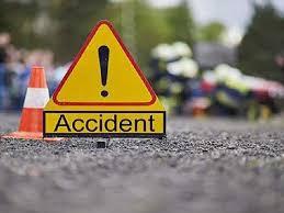 सड़क दुर्घटना में किसान की मौत