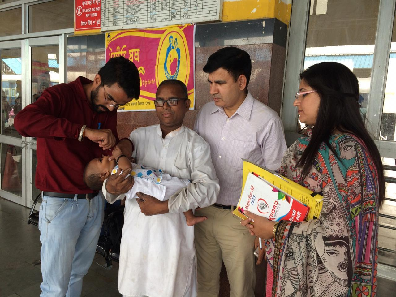 PULSE POLIO DRIVE COVERS 29301 CHILDREN ON THE LAST DAY