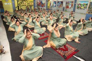 Innocent Hearts Organized International Yoga Day