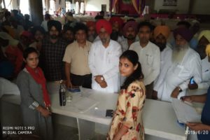 More Than 1500 People Got Themselves Registered In District Level Camp Held Under Mgsvy