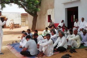 नहरी पानी संघर्ष समिति ने की बैठक में रोष जताया