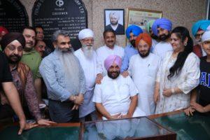 Tejinder Singh Bittu assumes charge of Chairman PUNSUP