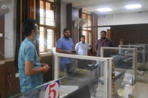 लघु सचिवालय महेंद्रगढ़ में सरल केंद्र के साथ आधार केंद्र स्थापित: विनेश कुमार