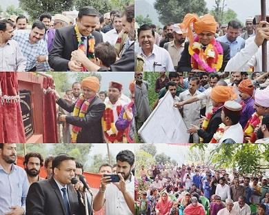 DDC Doda lays foundation stone of newly sanctioned GDC at Kastigarh