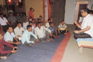मेहंदीपुर बालाजी की 25वीं पदयात्रा को लेेकर बैठक आयोजित