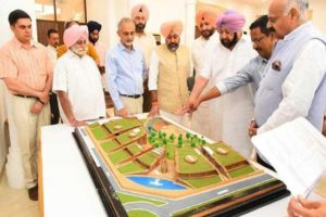 Chandigarh India International Centre to be named after Beant Singh , Badnore, Amarinder give in-principle approval