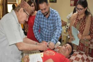 WWICS Marks Canada Day Celebrations with a Blood Donation Camp