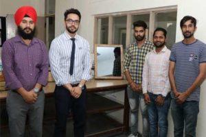 CTIEMT Students design solar operated water resistant Smart Mirror