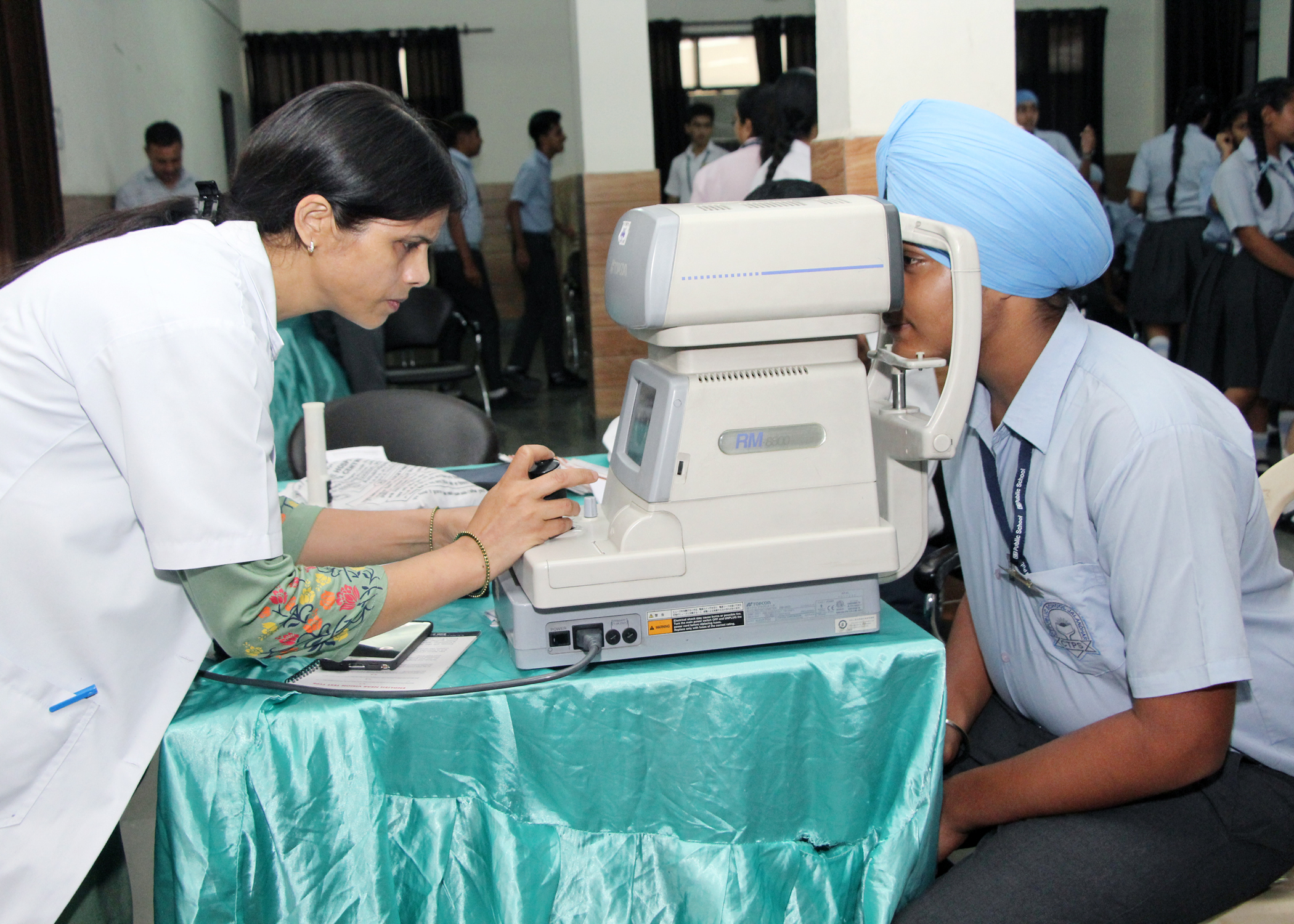 CT Public School & CT World School organises Health check-up camps