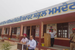 NEW INITIATIVE: DC FEROZEPUR LAUNCHES 'ONE DAY ONE SCHOOL' DRIVE AGAINST DRUG MENACE