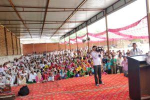 डिप्टी स्पीकर संतोष यादव ने गांव बिहाली में किए 50 लाख रूपये के उद्घाटन व शिलान्यास