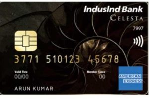 IndusInd Bank launches the super-premium 'IndusInd Bank Celesta American Express Credit Card' with a host of exclusive features