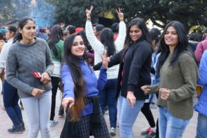 A fastible celebration at Panjab University