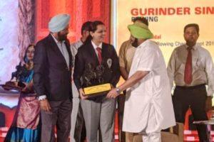 CM felicitates Malaika Goel with Maharaja Ranjit Singh Award in Shooting Sports