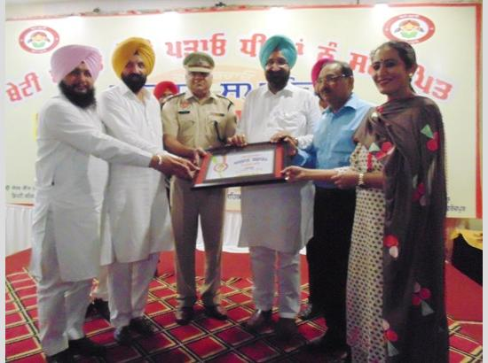 Daughters are not burden, they are our pride: Randhawa Cabinet Minister