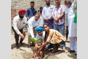 To commemorate 550th  Birth Anniversary of Guru Nanak Dev Ji, 4.60 lac saplings to be planted in Ferozepur
