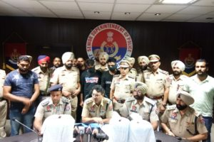 JALANDHAR (RURAL) POLICE BUSTS INTERSTATE NARCO-TERRORISM GANG HEADED BY YOUTH BELONGING TO FAMILY INVOLVED IN TERRORIST ACTIVITIES DURING BLACK DAYS