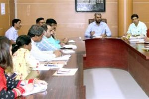 Chandigarh DC reviews working of Estate Office, orders to clear pending files