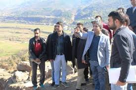 DDC Rajouri inspects progress on developmental projects