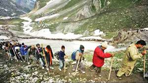 Over 2.3 lakh perform Amarnath Yatra in 18 days