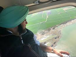 Amarinder to conduct aerial survey of Patiala & Sangrur flood-hit areas tomorrow