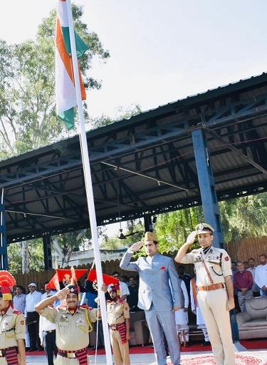 73rd Independence Day celebrated across Rajouri district