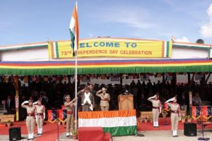 73rd Independence Day celebrated at Leh with patriotic fervour