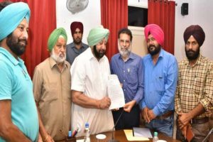 Punjab & Chandigarh Journalists Union thanks Capt. Amarinder for Insurance Cover