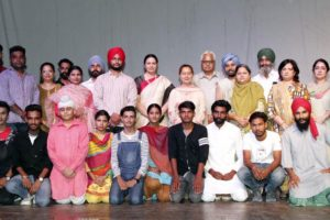 On the fourth day of Punjab Natya Mahotasava – a Theatre Festival organized at Apeejay College of Fine Arts