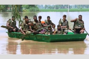 Ferozepur based army division rescues 283 civilians stranded in floods
