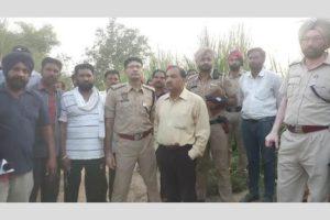 High alert in Ferozepur, heavy water discharge from Pak damage embankment at village Tendiwala