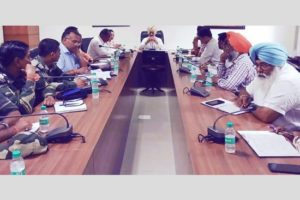 DC convenes emergency meeting in wake of heavy downpour and excess water release from Bhakhra Dam