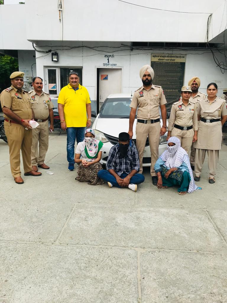 COUNTER INTELLIGENCE AND KAPURTHALA POLICE BUST ANOTHER MAJOR INTER-STATE HEROIN SMUGGLING RACKET
