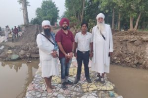 DISTRICT ADMINISTRATION PLUGS 180-FT MASSIVE BREACH IN PHILLAUR