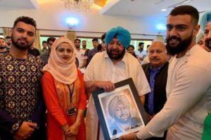 Capt Amarinder Singh hosts Kashmiri students on occasion of Eid-al-Adha