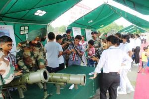 Vajra Corps organizes 'Know Your Forces' Exhibition