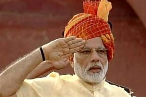 The Prime Minister,Narendra Modi addressed the nation from the ramparts of the Red Fort on the 73rd Independence Day