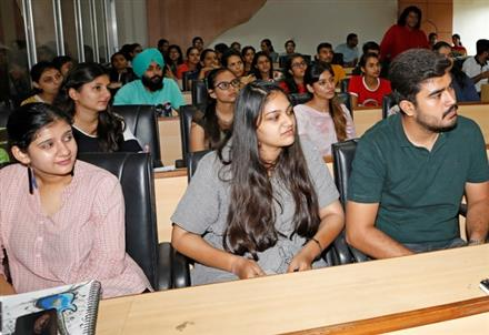 Apeejay College of Fine Arts organizes workshop on Soft Skills and Personality Development