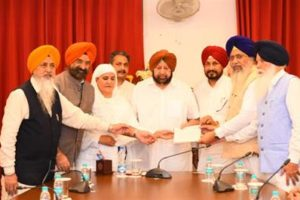 Capt Amarinder urges SGPC to join Punjab govt in 550th Parkash Utsav of Guru Nanak Dev ji