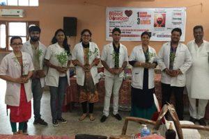 As many as 157 volunteers donate blood in memory of Shaheed Udam Singh