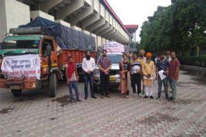 Relief material to District Jalandhar & Kapurthala dispatched