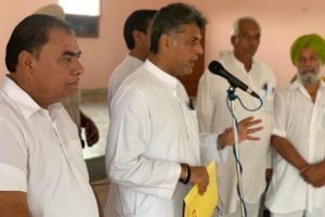 BJP trying to fiddle with Ambedkar's legacy: Manish Tewari