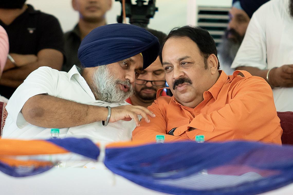 SAD-BJP delegation will urge PM Modi to arrange land for rebuilding Ravidas temple: Sukhbir Singh Badal
